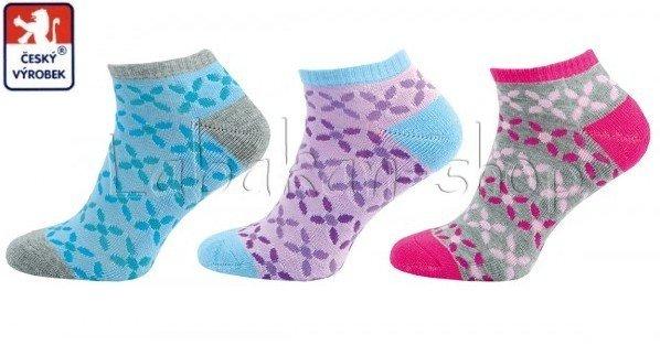 Kotníkové sportovní ponožky poloplyš