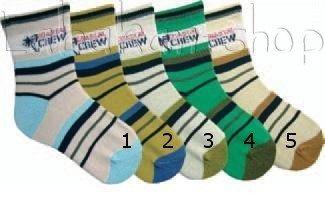 Dětské pruhované ponožky  ebef755dfa