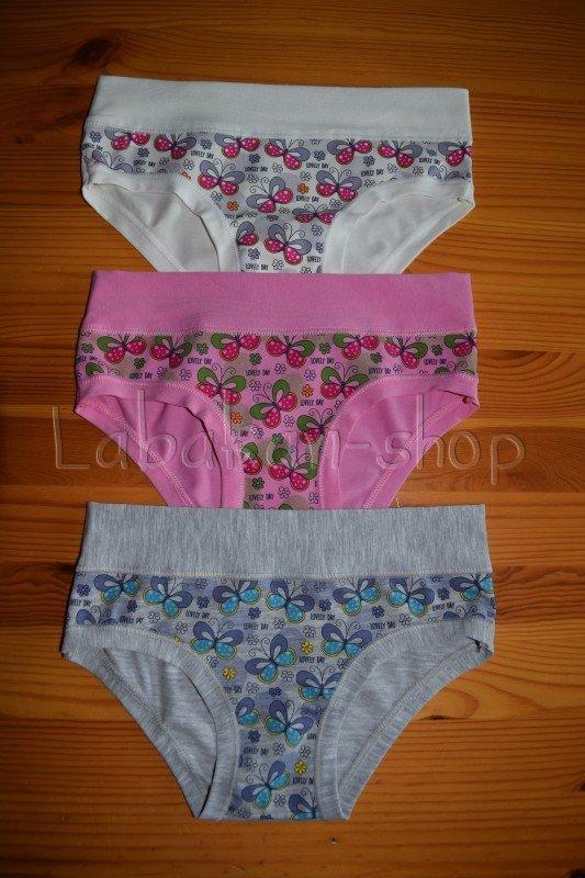 Dívčí kalhotky EMY(vzor motýlci)