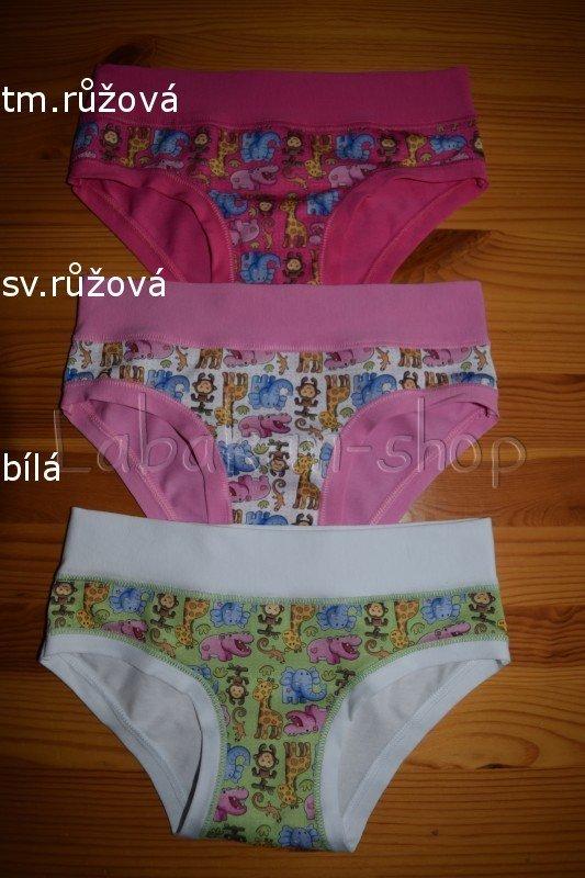 Dívčí kalhotky EMY(vzor ZOO)