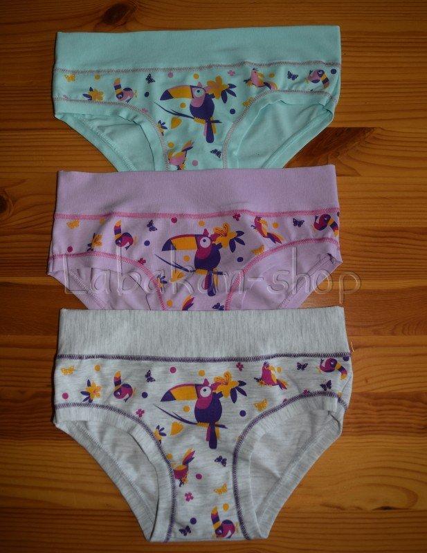 Dívčí kalhotky EMY(vzor loskuták)
