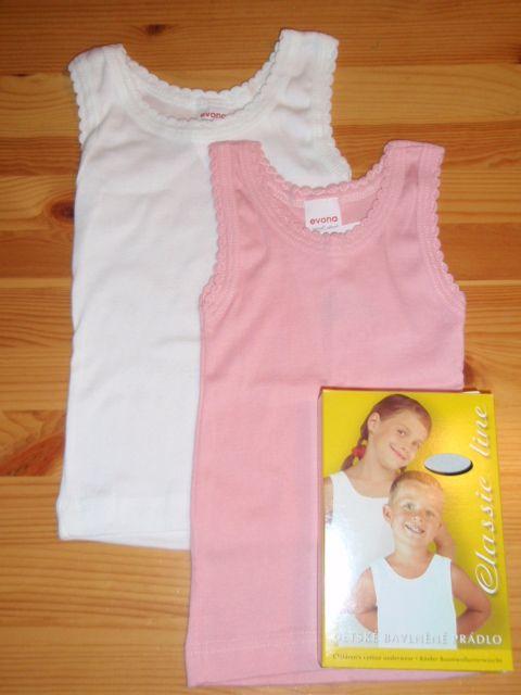 Dívčí košilka ANEZ-100%bavlna(98-116)
