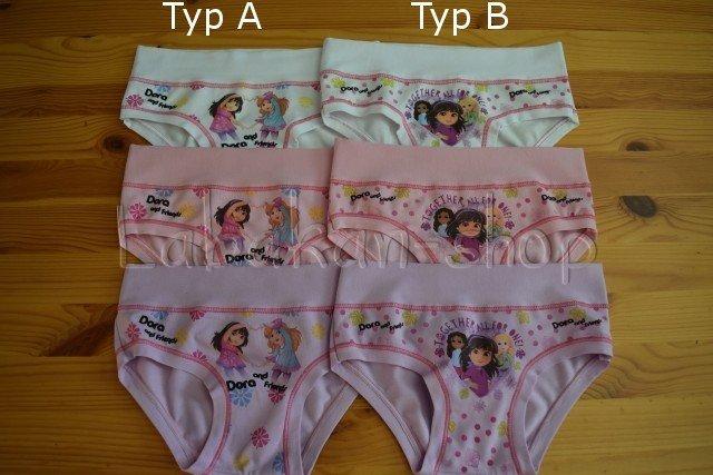 Dívčí kalhotky EMY(vzor Dora)