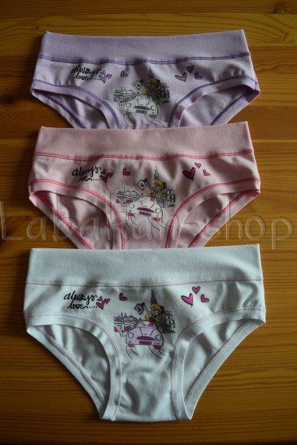 Dívčí kalhotky EMY(vzor love)
