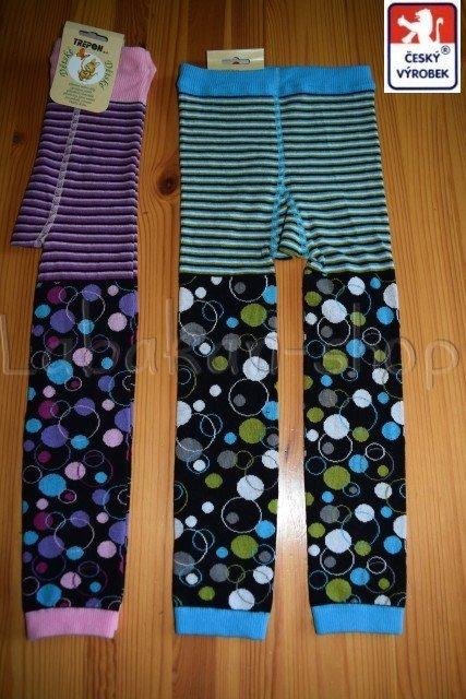 Dětské punčocháče bez ťapky(legíny/kamaše)Norbik-vel.98-104, 110-116, 122-128