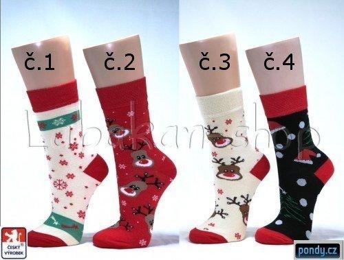 fb7a6816d9f Dámské designové vánoční ponožky(vel.37-40) empty