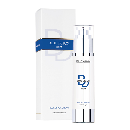 Blue detox krém FOR LIFE & MADAGA