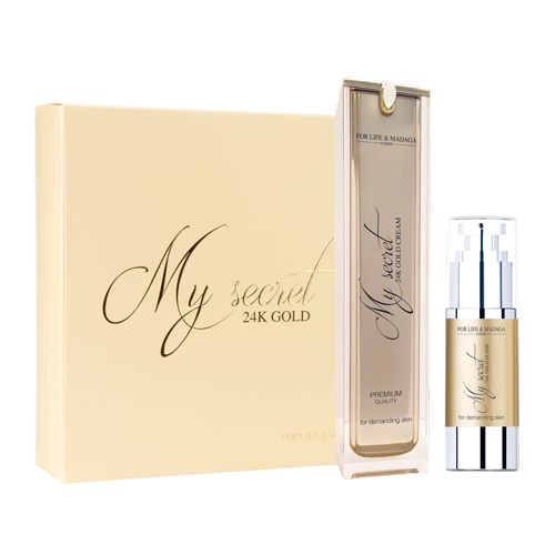 SET - MY SECRET 24K GOLD FOR LIFE & MADAGA