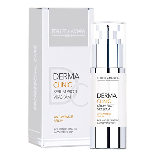 Dermaclinic sérum proti vráskám FOR LIFE & MADAGA